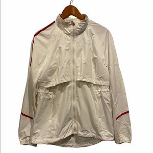 lululemon Run Jacket White/Pink Size 10